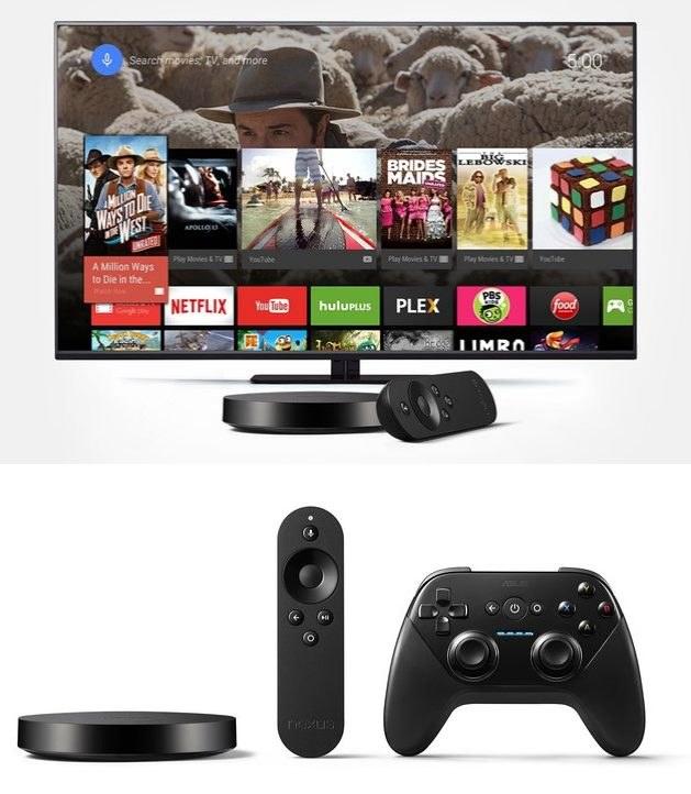 Nexus Player - konsola i alternatywa dla platform smart TV w jednym /materiały prasowe