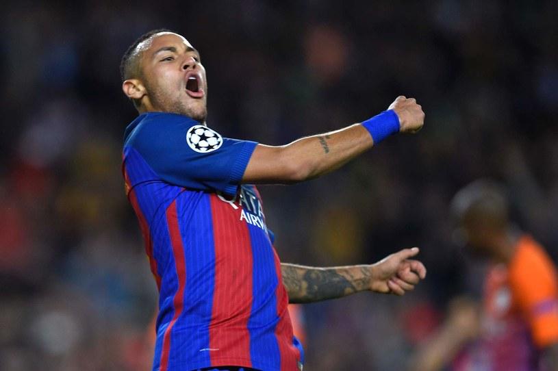 Neymar dobrze czuje się w Barcelonie /AFP