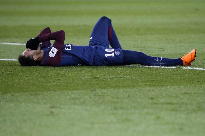 Neymar doznał kontuzji w niedzielnym meczu z Marsylią /AFP