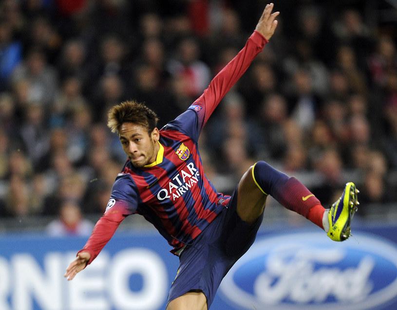 Neymar, gwiazda Barcelony /AFP