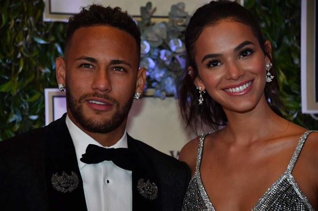 Neymar i Bruna Marquezine /AFP