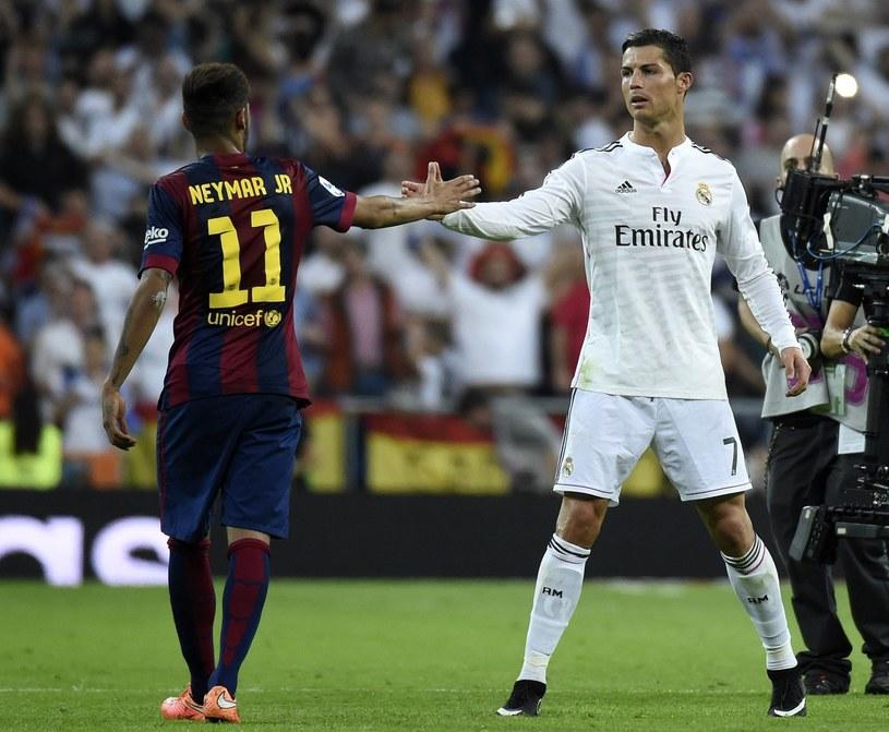 Neymar i Cristiano Ronaldo /AFP