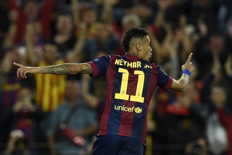 Neymar i jego koledzy z Barcelony celują w potrójną koronę /AFP