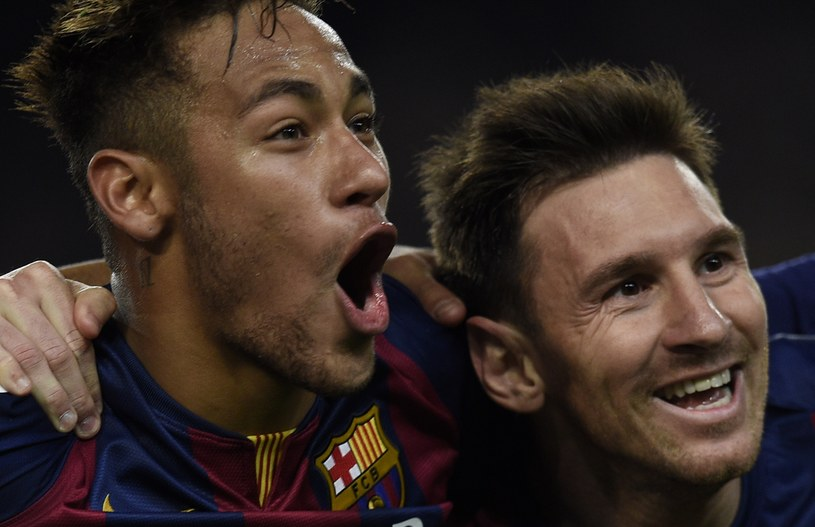 Neymar i Leo Messi /AFP