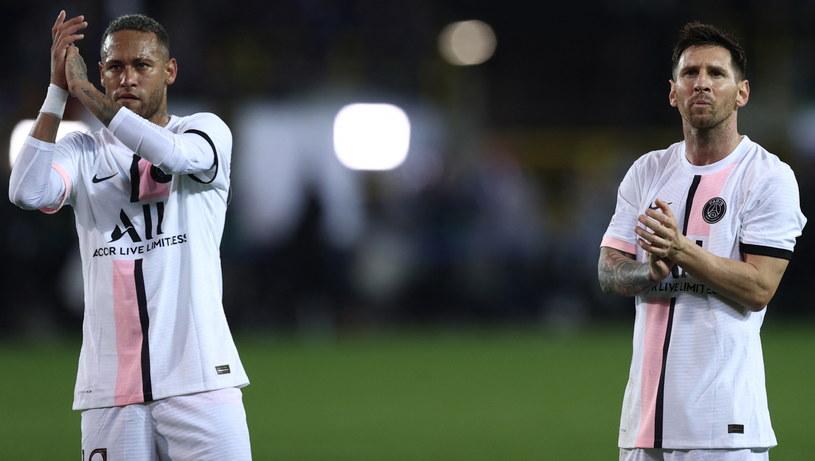 Neymar i Messi /AFP