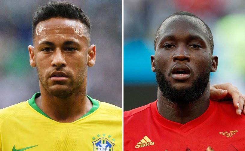 Neymar i Romelu Lukaku /AFP