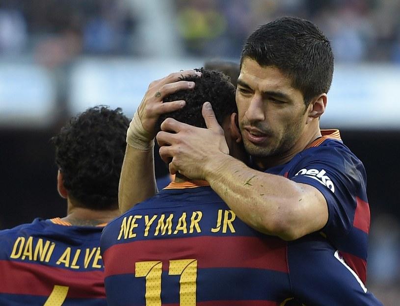 Neymar i Sueraz są ostatnio w znakomitej formie /AFP