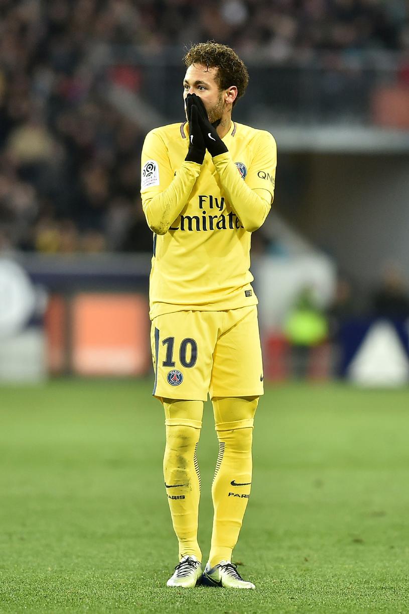 Neymar nie może liczyć na dodatkową premię z Barcelony /AFP
