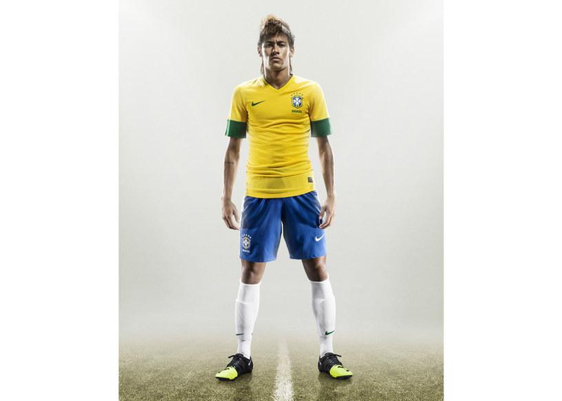 Neymar niebawem zagra w nowych Nike GS na Igrzyskach w Londynie /materiały prasowe