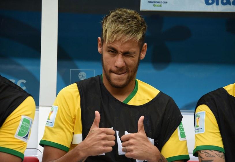 Neymar, piłkarz reprezentacji Brazylii /AFP