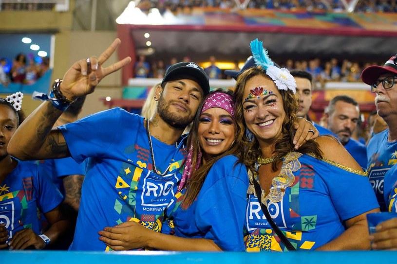 Neymar podczas karnawału w Rio de Janeiro w 2019 roku /MAURO PIMENTEL /AFP