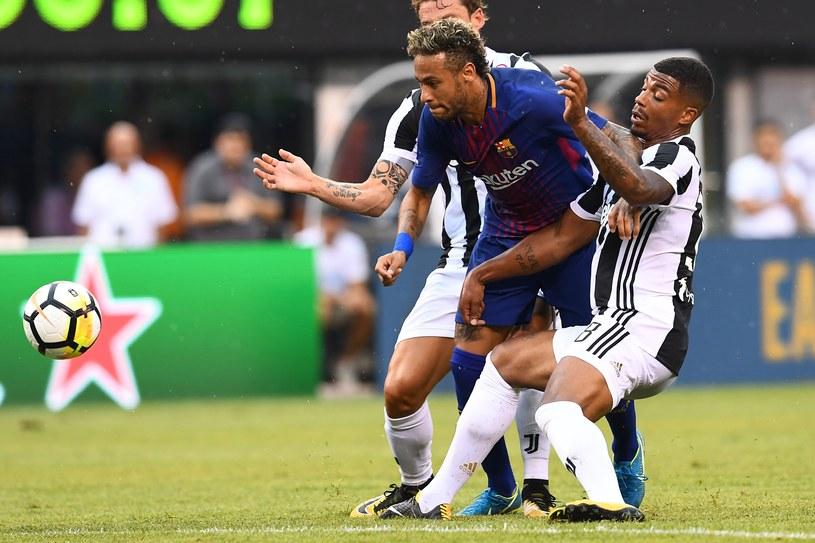 Neymar podczas spotkania towarzyskiego z Juventusem /AFP