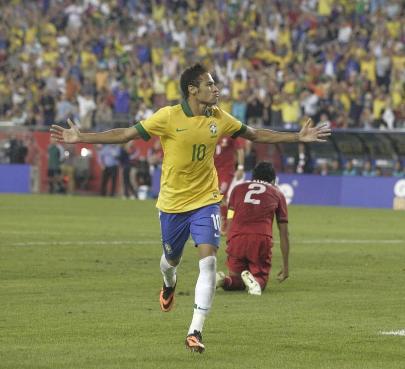 Neymar strzelił gola Portugalczykom /PAP/EPA