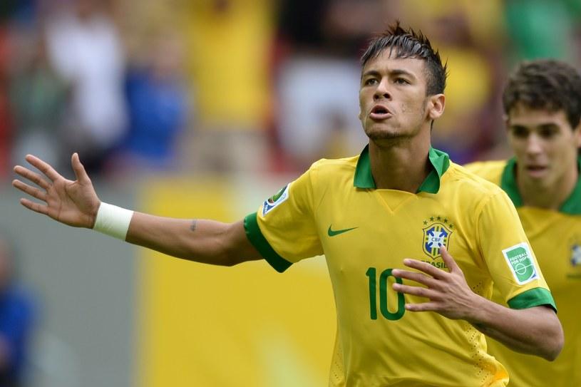 Neymar strzelił gola w meczu z Japonią /AFP