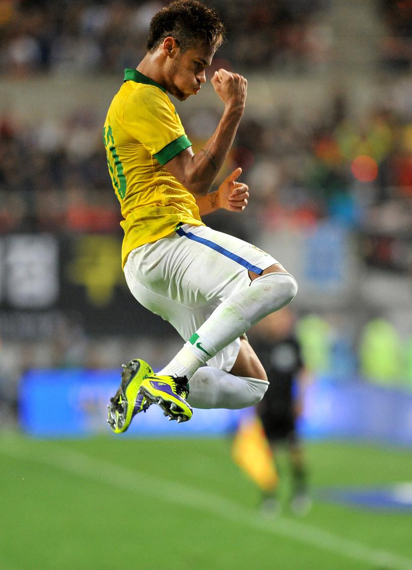 Neymar to najdroższy piłkarz w talii Luiza Felipe Scolariego /AFP