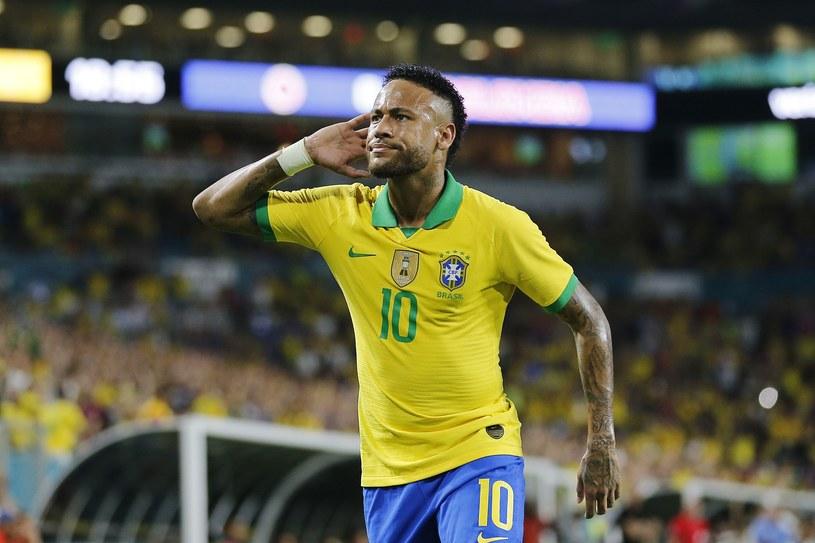 Neymar w barwach reprezentacji Brazylii /AFP