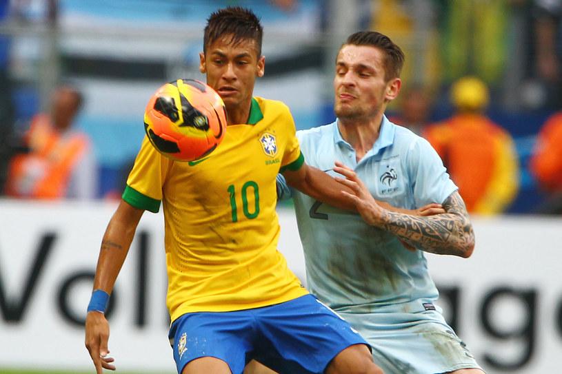 Neymar w meczu z Francją /AFP