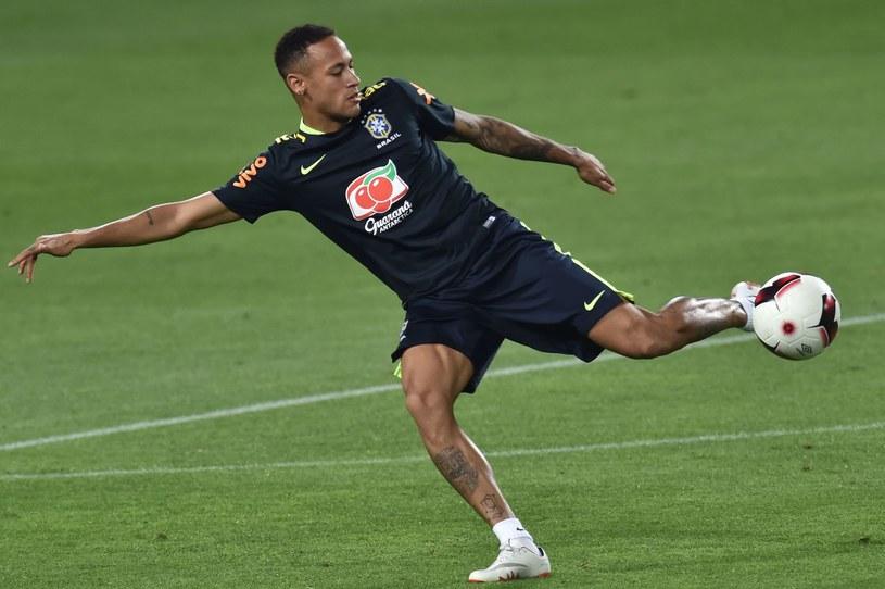 Neymar w reprezentacji Brazylii /AFP