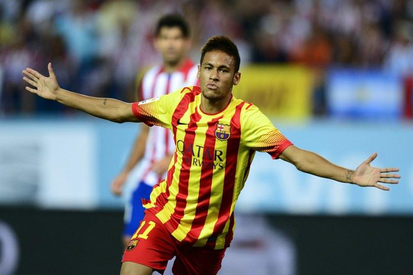 Neymar zdobył bramkę na 1-1 /AFP