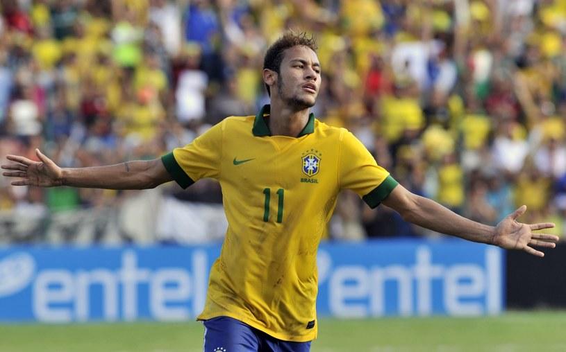 Neymar zdobył dwa gole w meczu z Boliwią /AFP