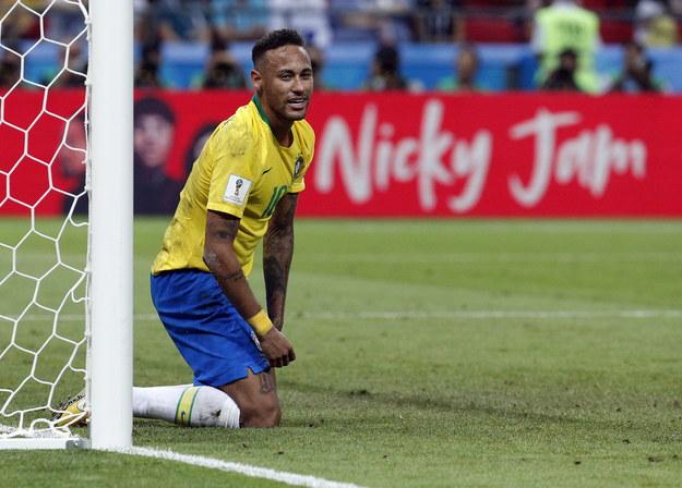 Neymar /SERGEY DOLZHENKO /PAP/EPA