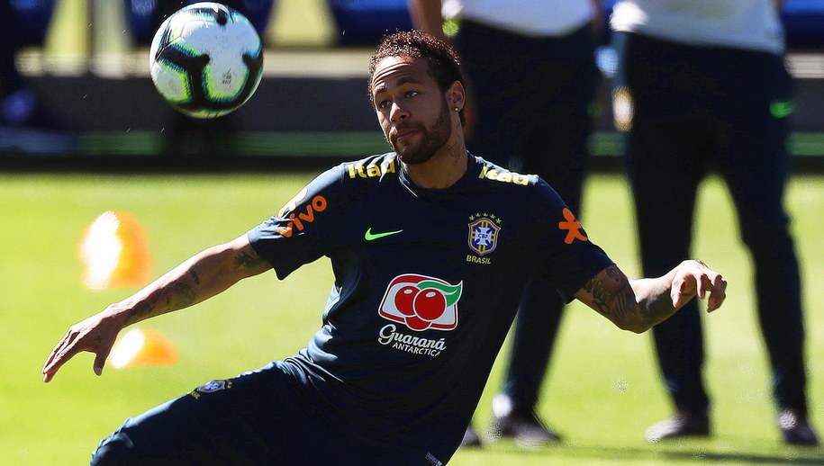 Neymar /MARCELO SAYAO /PAP/EPA