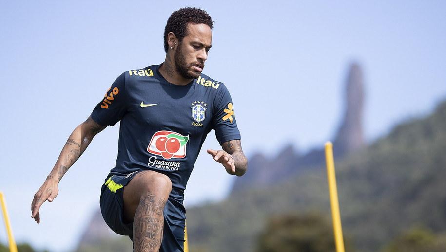 Neymar /Lucas Figueiredo / CBF HANDOUT /PAP/EPA