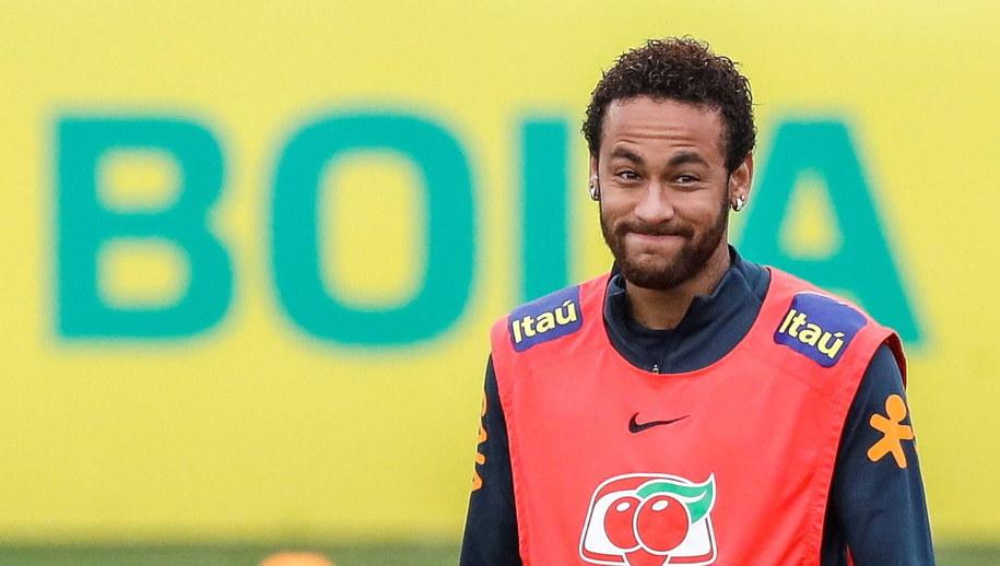 Neymar /Antonio Lacerda /PAP/EPA