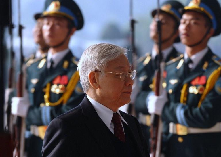 Nguyen Phu Trong /AFP