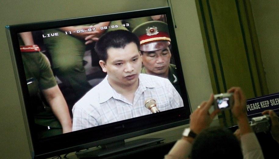 Nguyen Van Dai w 2007 roku /JULIAN ABRAM WAINWRIGHT /PAP/EPA