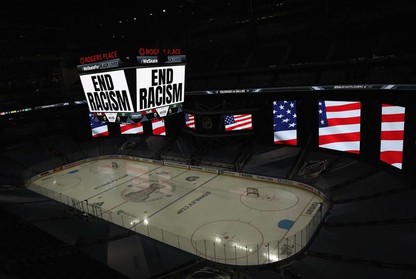 NHL przyłączyła się do protestu /AFP