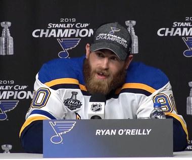 NHL. Ryan O'Reilly (MVP play-offów NHL) o zdobyciu Pucharu Stanleya i indywidualnej nagrody. Wideo