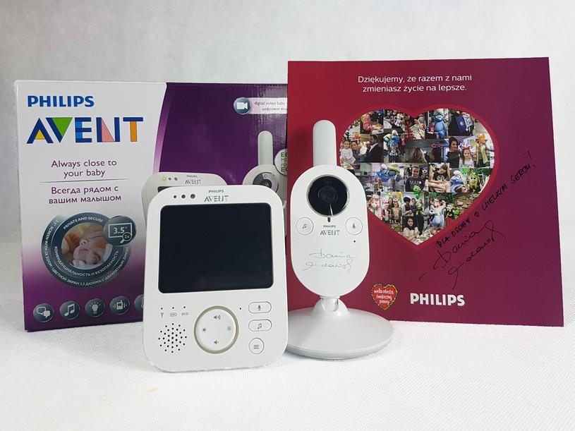 Niania elektryczna Philips Avent SCD630 z podpisem Darii Widawskiej /materiały prasowe