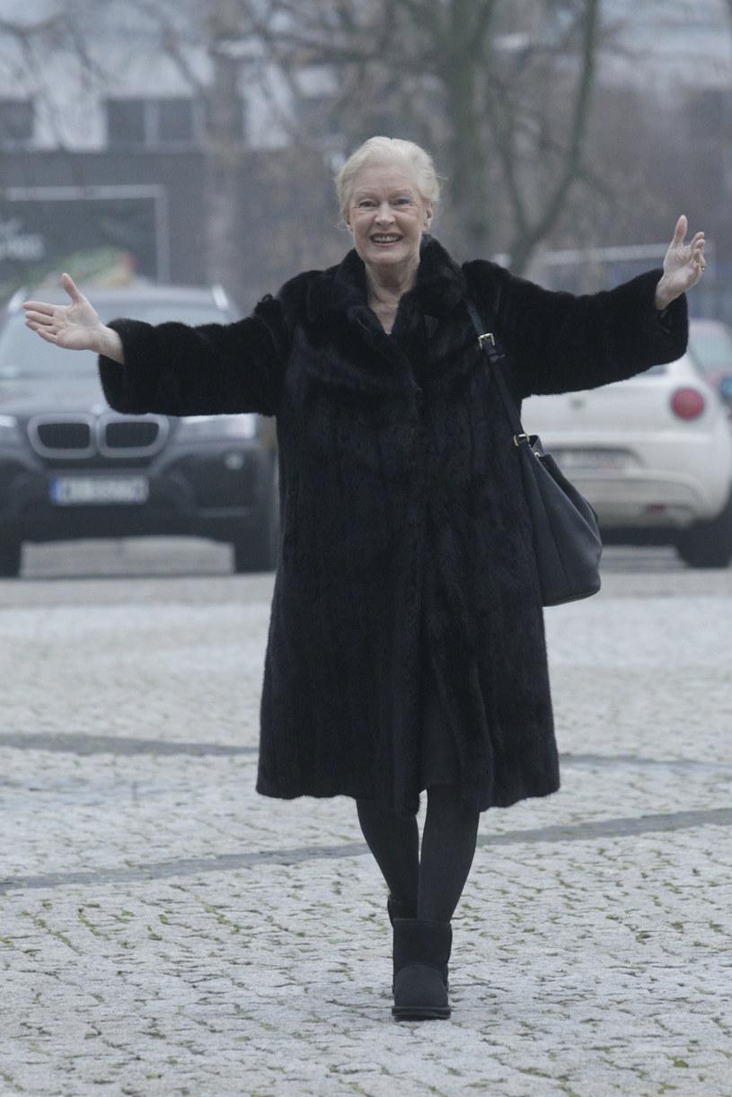 Nic nie wskazywało na to, że Beata Tyszkiewicz źle się czuła /Krzemiński Jordan /AKPA