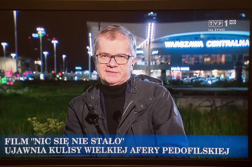 """""""Nic się nie stało"""" /Wojciech Strozyk/REPORTER /Reporter"""