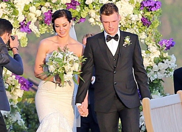 Nick Carter i Lauren Kitt /Hector Campos / Splash News /East News