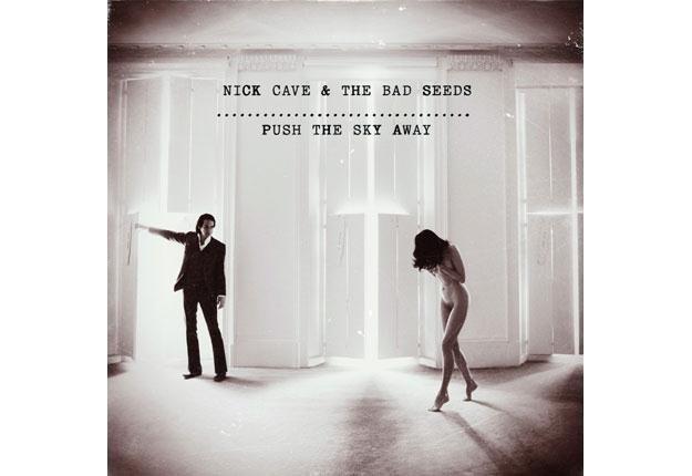 """Nick Cave i małżonka artysty Susie Bick na okładce albumu """"Push The Sky Away"""" /"""