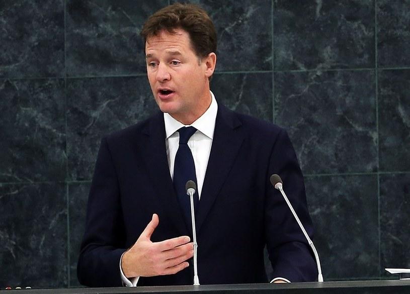 Nick Clegg /AFP
