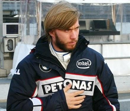 Nick Heidfeld jeszcze jako kierowca BMW-Sauber /AFP