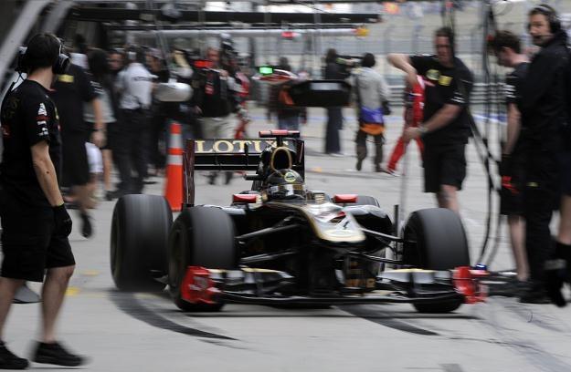 Nick Heidfeld w bolidzie Lotus-Renault /AFP