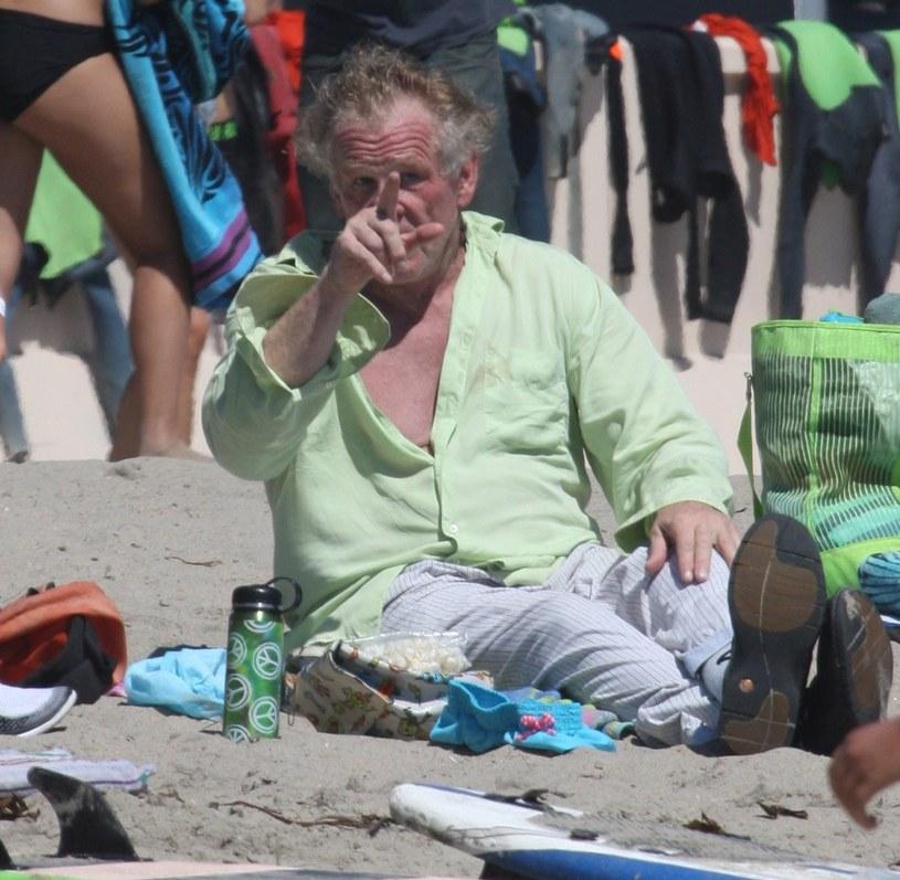 Nick Nolte na innych niepokojących zdjęciach /Splash News /East News