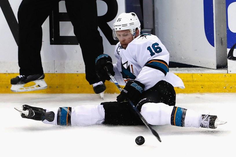 Nick Spaling z San Jose Sharks /AFP