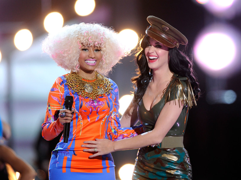Nicki Minaj i Katy Perry pojawiły się na płycie Calvina Harrisa /Michael Caulfield /Getty Images