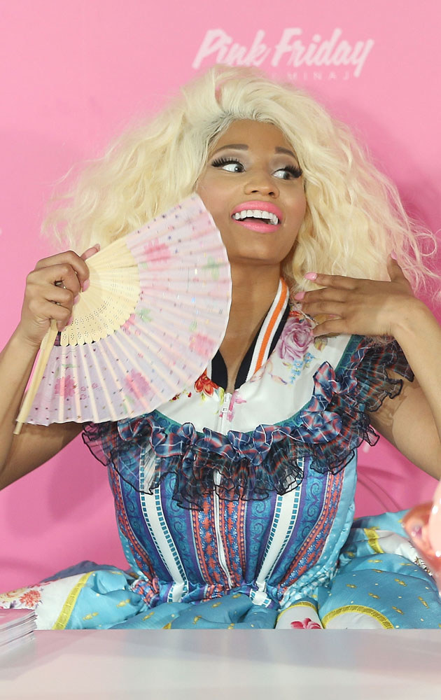 Nicki Minaj jest pełna samozachwytu /Mark Metcalfe /Getty Images