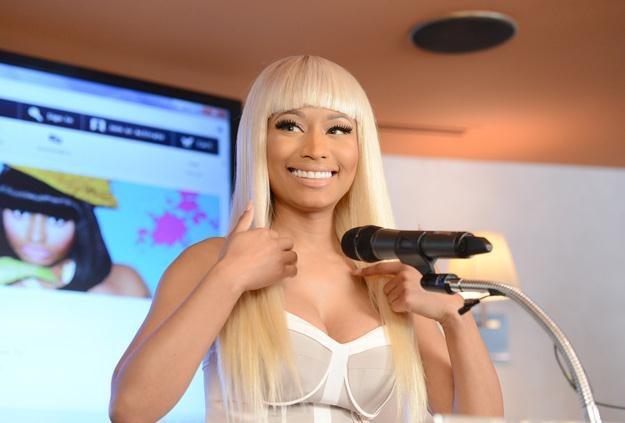Nicki Minaj uwielbia być w centrum uwagi - fot. Jason Merritt /Getty Images/Flash Press Media