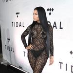 Nicki Minaj w przezroczystym kombinezonie!
