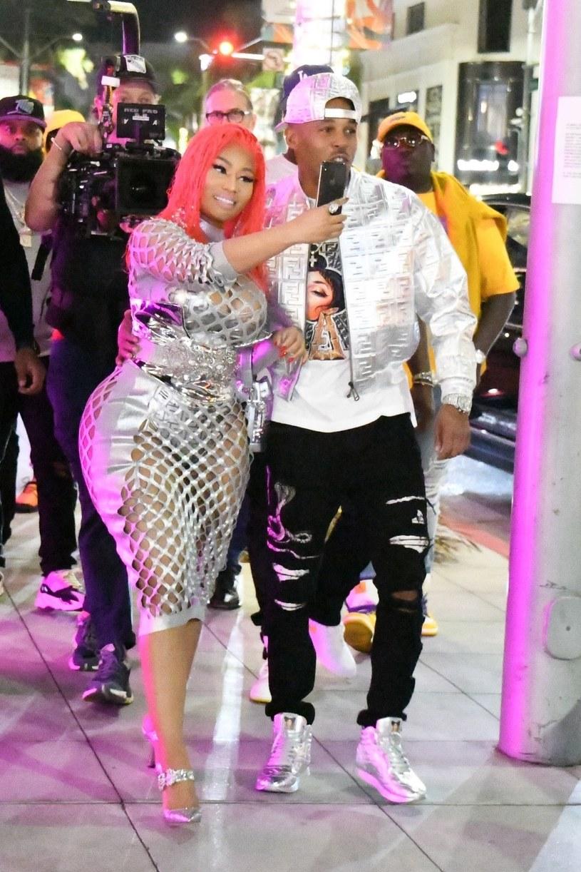 Nicki Minaj /NEMO/ MSBH / BACKGRID /Agencja FORUM