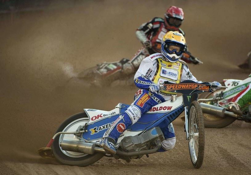 Nicki Pedersen był jedną z gwiazd gdańskiego zespołu w sezonie 2012. /AFP