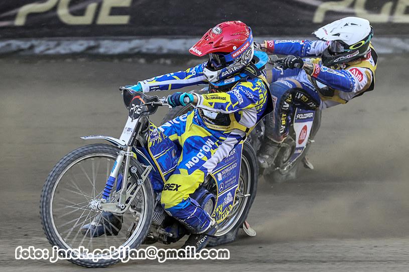 Nicki Pedersen, Janusz Kołodziej /Jarosław Pabijan /Flipper Jarosław Pabijan
