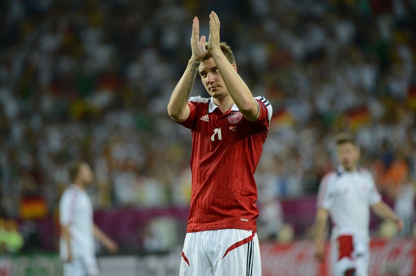 Nicklas Bendtner będzie grał w Juventusie /AFP